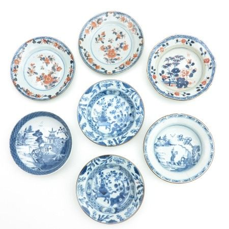A Collection of Seven Small Plates