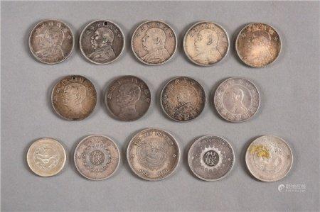 民国(1912-1949) 各式银元 一批