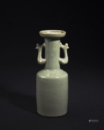 龍泉窯鳳耳瓶
