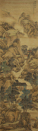 CHINESE LANDSCAPE PAINTING OF ZHANG YIN