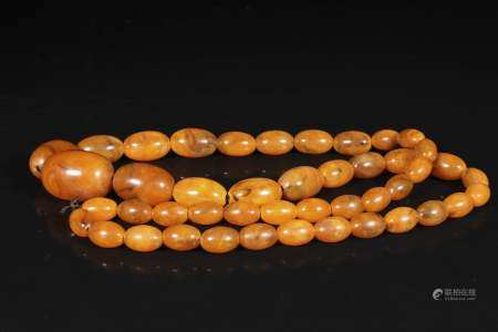 republic Beeswax necklace