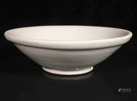 Five - generation white glaze tray of xing kiln