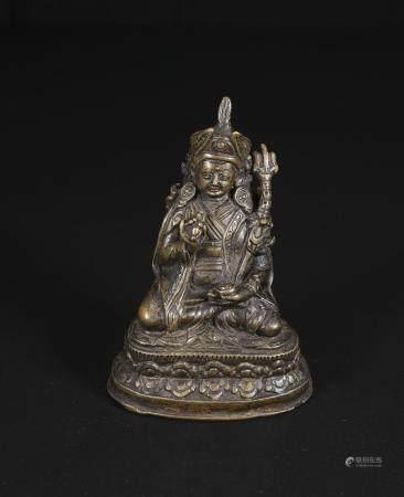 qing dynasty Small bronze Buddha statues