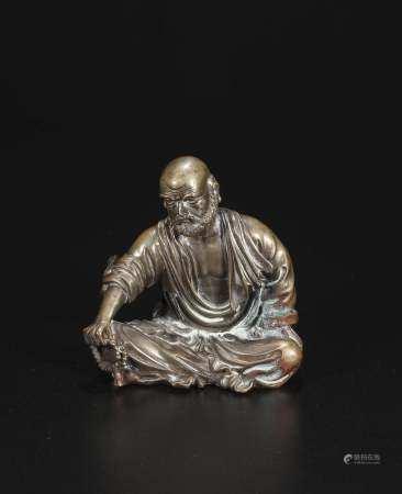 qing dynasty Brass Dharma furnishing