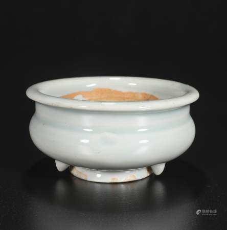 qing dynasty Shadow green incense burner