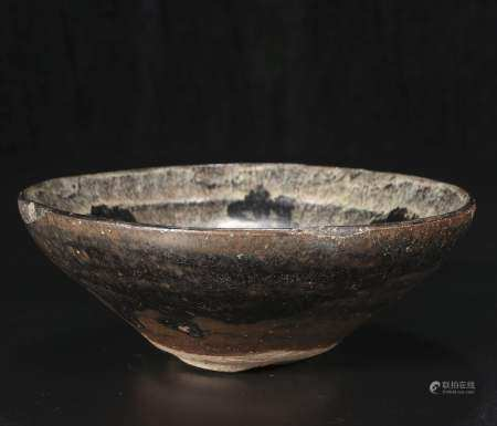 Song dynasty To flower pattern jian kilns bowl