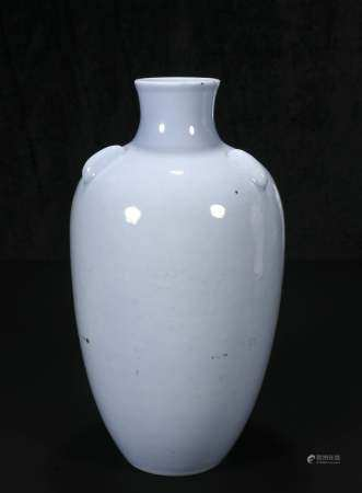 republic Sky blue glaze bottle