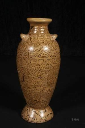 Song dynasty Stone glazed bottle