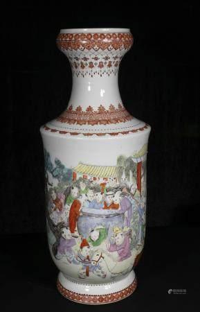 Mid-20th century Powder enamel children's bottle