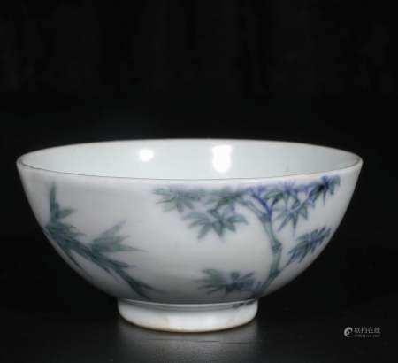 Qing Yong Zheng dou color small cup