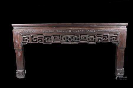 qing dynasty redwood Big picture table