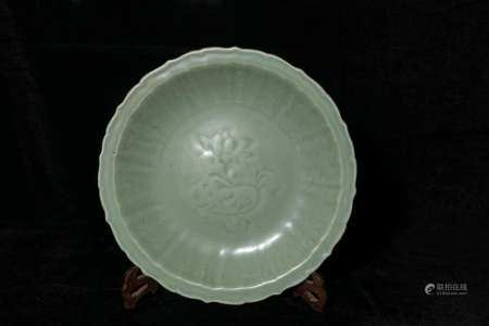 Ming Dynasty Longquan Kuikou plate