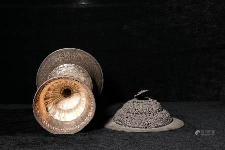 qing dynasty Silver Tibetan incense incense