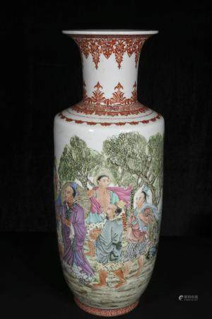 Mid-twentieth century Zhang Jian paints horse grain bottles