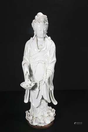 qing dynasty Dehua Bo Ji Yu Ren guanyin