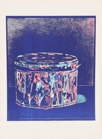 Piero Manai (1951-1988) Artiste peintre italien Lithographie polychrome. Signé en [...]