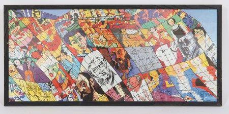 Hommage à Matisse de Gudmundur Erro (né en 1932) Artiste islandais [...]