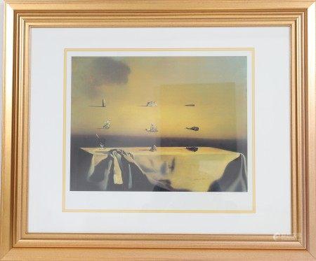 """""""Morphological Echo"""" de Salvador Dali (1904-1989) Artiste peintre espagnol, l'un des [...]"""