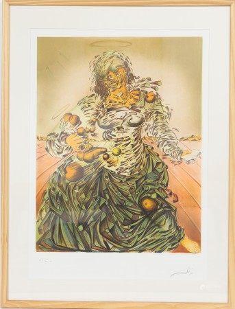 """Triumphant Madonna"" Salvador Dali (1904-1989) Artiste peintre espagnol, l'un des [...]"
