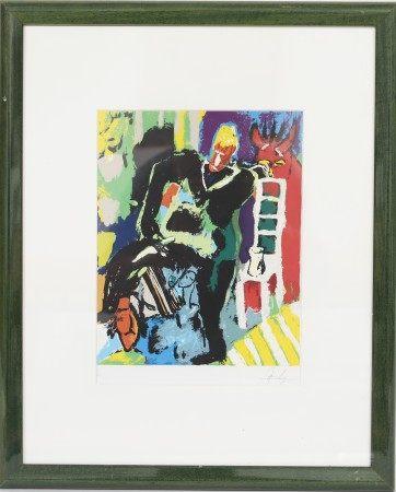 Jean Fetz (né en 1957) Artiste peintre luxembourgeois, membre du CAL Lithographie [...]