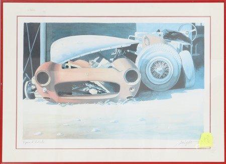 """""""Epave d'artiste"""" d'Alain Mirgalet (né en 1950) Artiste peintre [...]"""