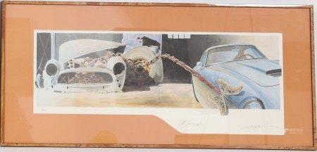 """""""La Métamorphose"""" d'Alain Mirgalet (né en 1950) Artiste peintre [...]"""