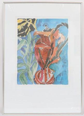 Moritz Ney (né en 1947) Artiste peintre luxembourgeois Lithographie polychrome [...]
