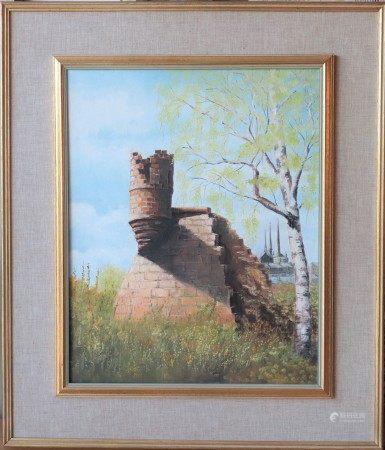 Raymond Hentgen (1927-1994) Artiste peintre autodidacte luxembourgeois Huile sur [...]