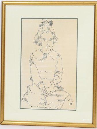 Egon Schiele (1890-1918) Artiste peintre, dessinateur et poète [...]