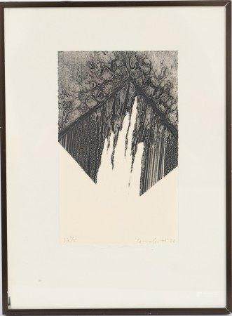 James Guitet (1925-2010) Artiste peintre et graveur français Gravure signée et [...]