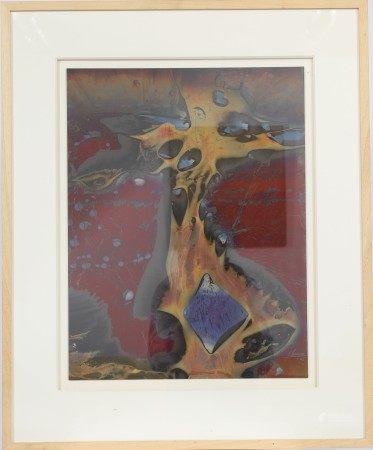 """""""Strange animal"""" d'Arthur Unger (né en 1932) Artiste peintre luxembourgeois, [...]"""