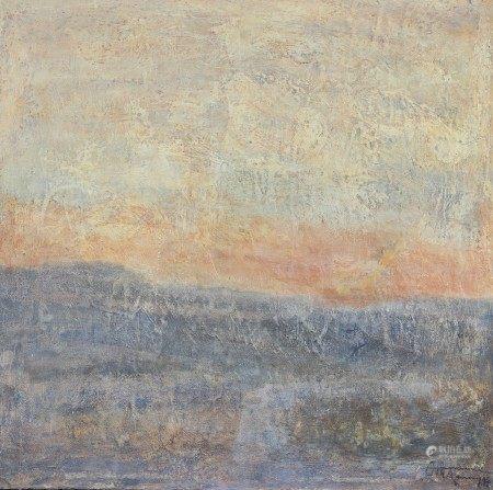 """""""Sublimation"""" de Ott Neuens (né en 1944) Artiste peintre luxembourgeois Œuvre sur [...]"""