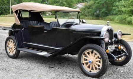 BUICK 1925 4 DOOR CONVERTIBLE TOURING CAR