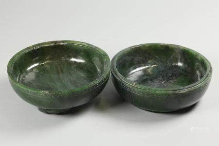 Chinese spinach jade cover box