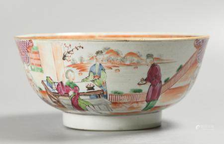 Chinese porcelain bowl, possibly 18th c.