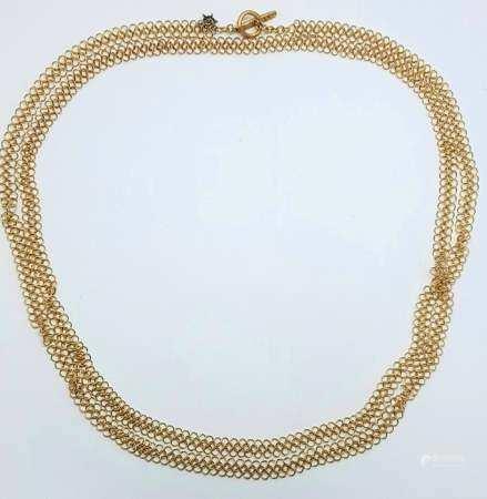 H.STERN - Gold Link Necklace