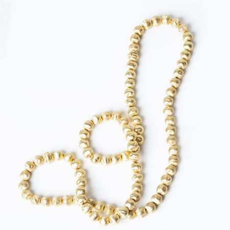 H.STERN - Gold Balled Chain Necklace, Set for Item 18