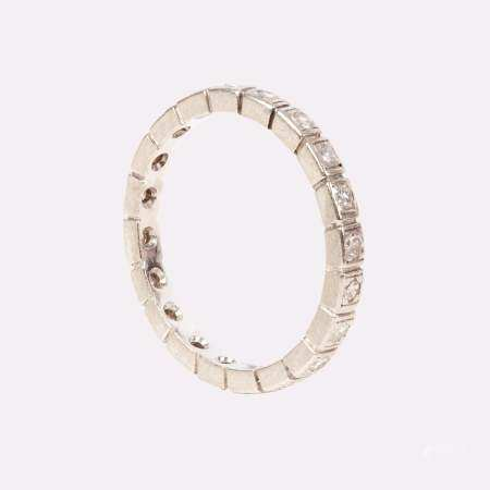 ETERNITY Ring, Gold\Platinum Set with Diamonds