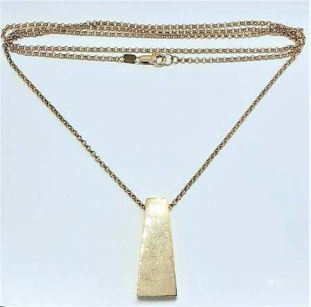 Gold Necklace, Integrating Antique and Modern Design