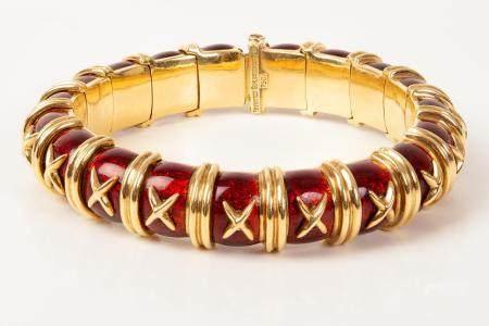 Croisillon Bracelet - Tiffany & Co ; Schlumberger