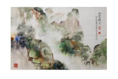 LI XUBAI (1940 –). 李虚白