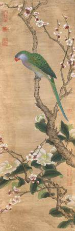 CHINESE PAINTING ON PAPER After an 18th Century example. Dep