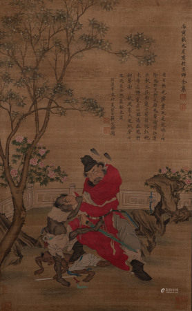 GU WENBIN, ANCIENT CHINESE PAINTING AND CALLIGRAPHY