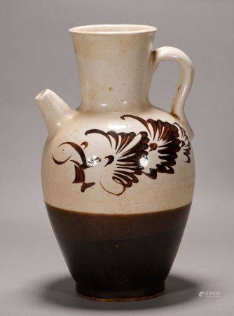 Song Dynasty - Cizhou Ware Kettle