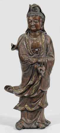 Große Bronze-Guanyin