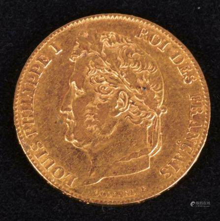Louis-Philippe,20 Francs, or