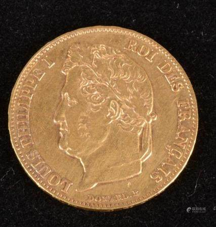 Louis-Philippe,20 Francs,or