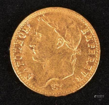 Premier Empire, 20 Francs Or
