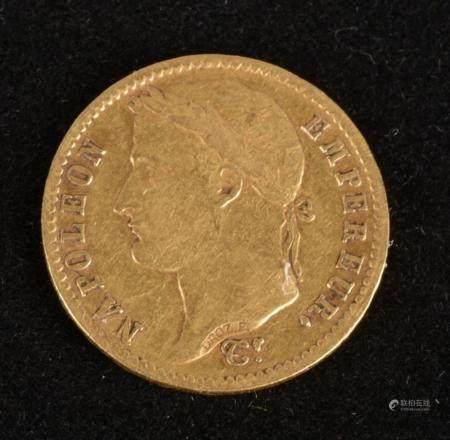 20 Francs Or Napoléon Ier