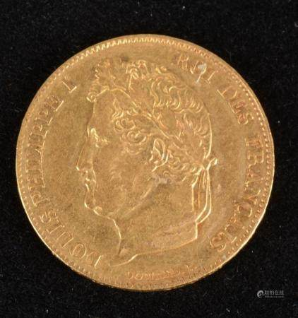 Louis Philippe Ier, 20 Francs Or